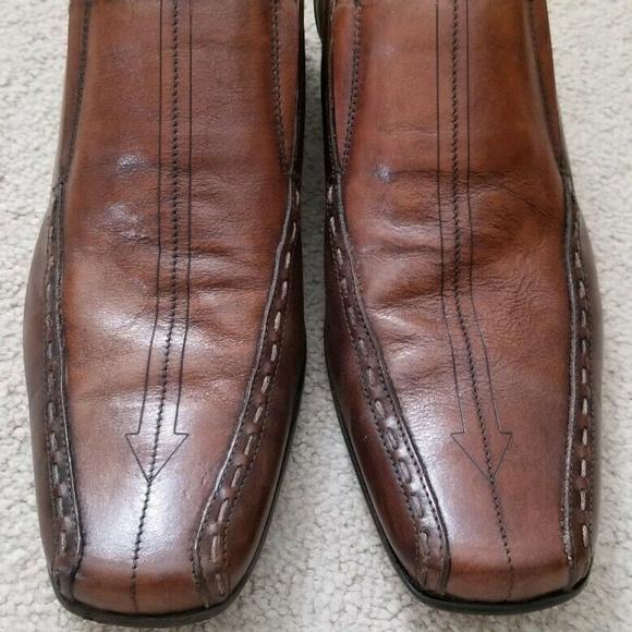lowest discount exquisite design outlet online Ben Sherman Shoes   Brown Sz 7 Eu 41 Leather Arrow Loafers   Poshmark